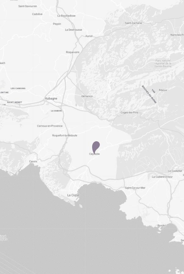 Camping Ceyreste : Ceyreste Map