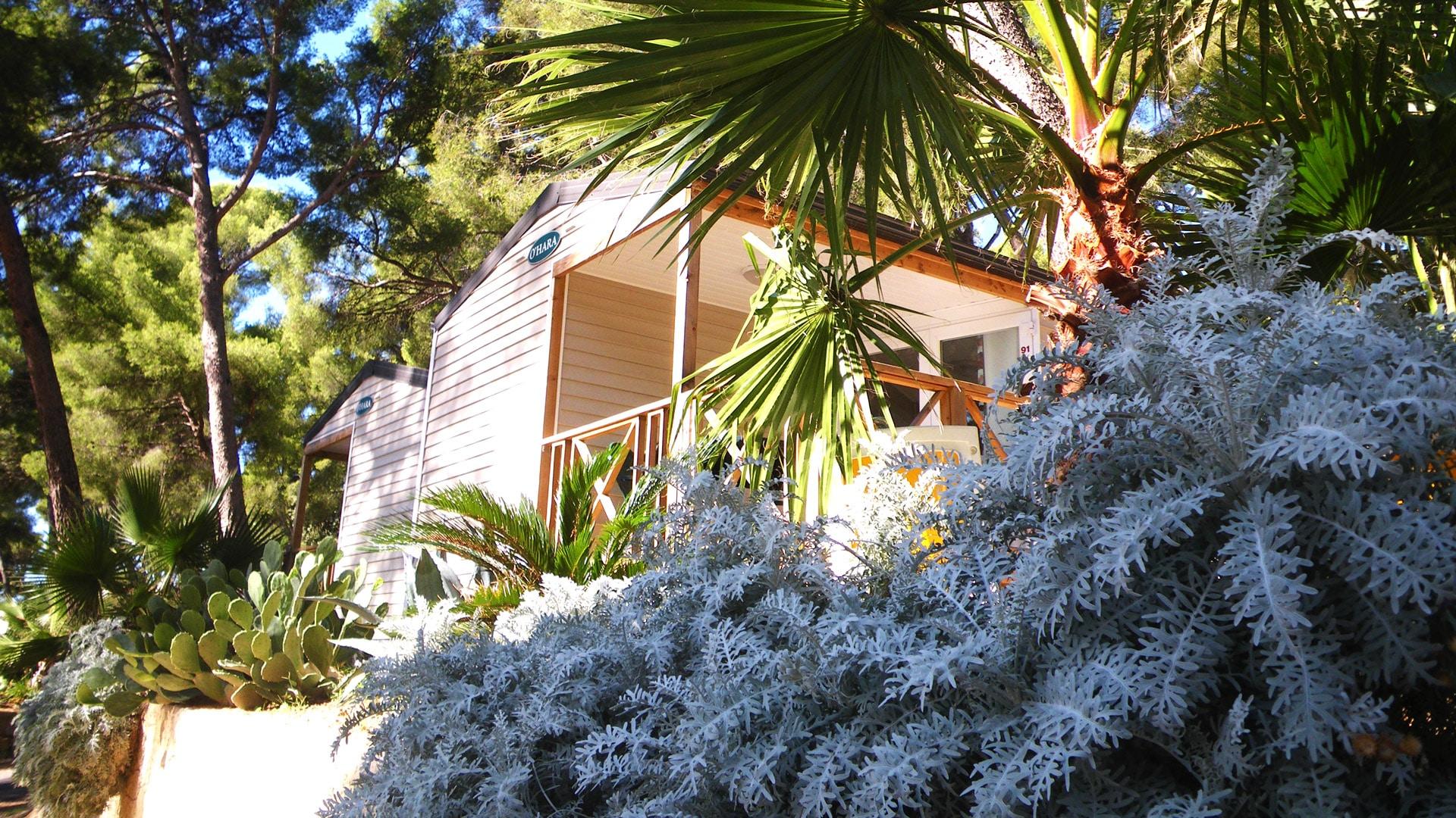 Camping Ceyreste : Exterieur Mobilhome Ombre